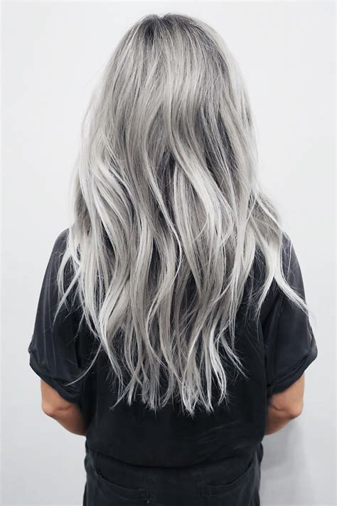 turning gray hair into blond turn it inside out 5x perfect grey hair paula