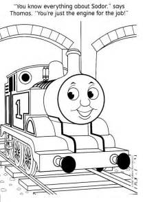 fun coloring pages thomas tank engine coloring pages