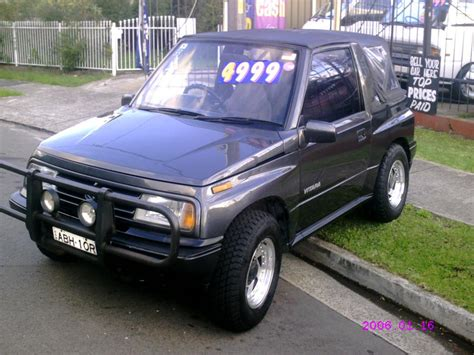 Suzuki Vitara Soft Top For Sale For Sale Suzuki Vitara 1990 4x4 5 Speed Soft Top