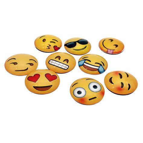 fridge emoji 1 2 5x emoji cartoon expression fridge magnet decor