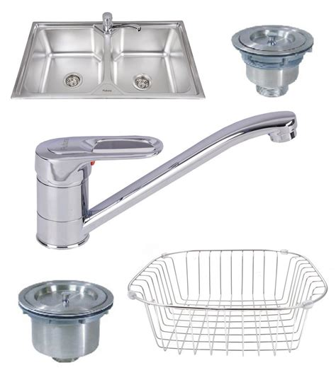 buy futura designer kitchen sink fs 999 with free drainer