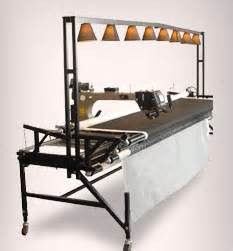i need the light bar across machine quilt studio