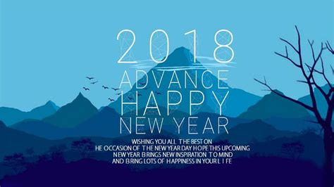 download free happy new year 2018 hd wallpapers for mobile