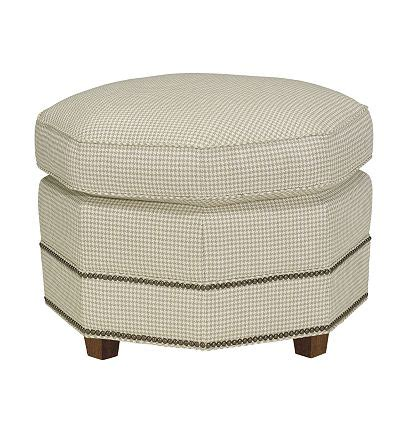 Octagonal Ottoman From The Mariette Himes Gomez Collection Octagon Ottoman