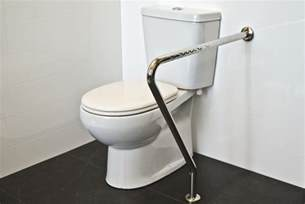 stainless steel toilet support safety rail superquip