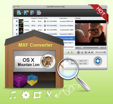 mxf video format tipard mxf converter for mac convert mxf files for
