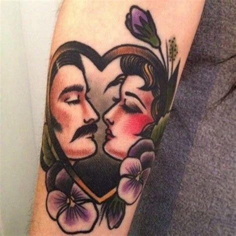 tattoo old school love tatuaggi femminili old school foto 20 40 pourfemme