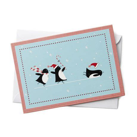 Walmart Ca Gift Card - hallmark 3 penguins sliding boxed cards walmart exclusive walmart ca