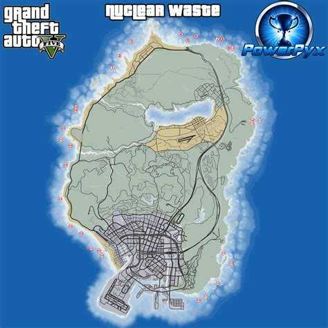 grand map grand theft auto v strategy guide powerpyx