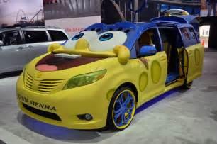 Bob Toyota Used Cars Spongebob Toyota Comes To La Auto Show Looks