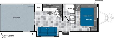 work and play floor plans 2016 forest river work and play wpt275ulsbs travel trailer