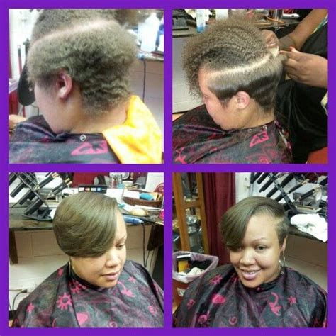 short hair cut with no relaxer twa with style on pinterest short natural hair big chop