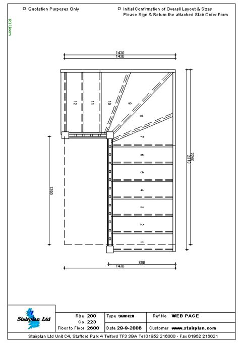 staircases   measure staircase drawing    tread winder staircase