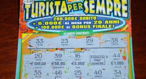 turista per caso gratta e vinci turista per sempre gratta e vince quasi 2 milioni di