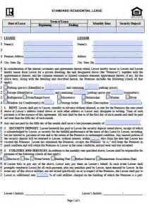 free illinois residential lease agreement pdf word doc