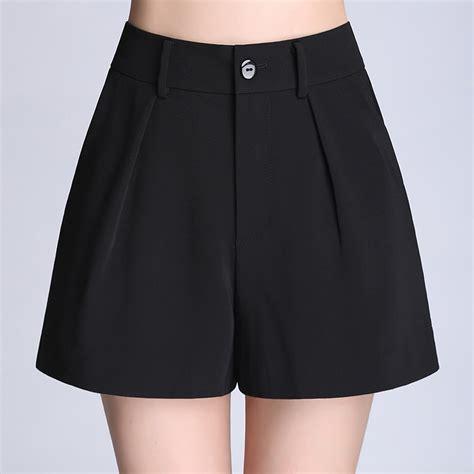 Wide Leg Shorts soperwillton high waist wide leg summer casual