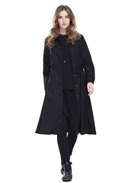 Sleeve Breasted Coat sleeves pockets s single breasted trench coat