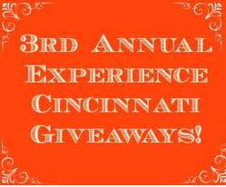 Cincinnati Giveaways - experience cincinnati holiday giveaways day 2