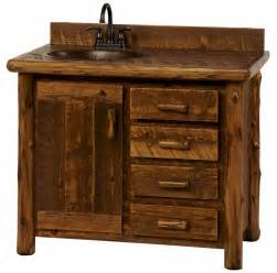 rustic bathroom vanity home decorating