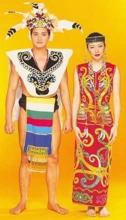Nama Baju Perempuan Iban pakaian kaum kadazan