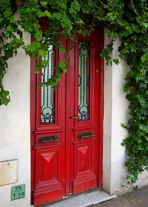 red front doors make a dramatic first impression 15 painted front doors