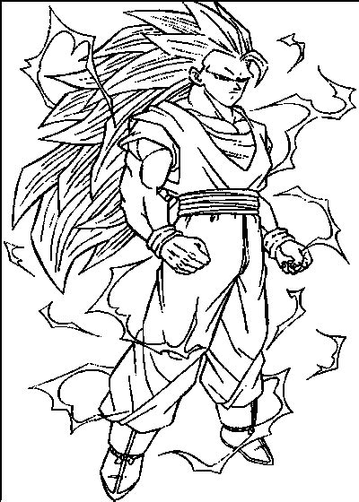 free online coloring pages of dragon ball z dbz coloring pages my child hero gianfreda net