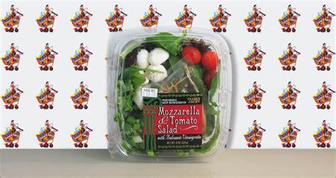 mozzarella tomato salad review  trader rater