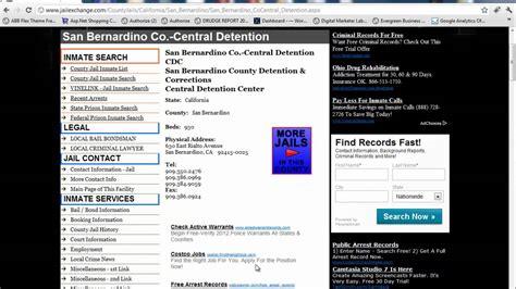 San Bernardino County Inmate Records San Bernardino County Inmate Search Lockup Info