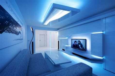 blue bedrooms images led home lighting design interior led lights for homes interior designs renovated white apartment with futuristic interior design one decor