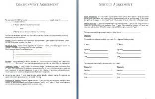 free consignment agreement template consignment agreement template free agreement and