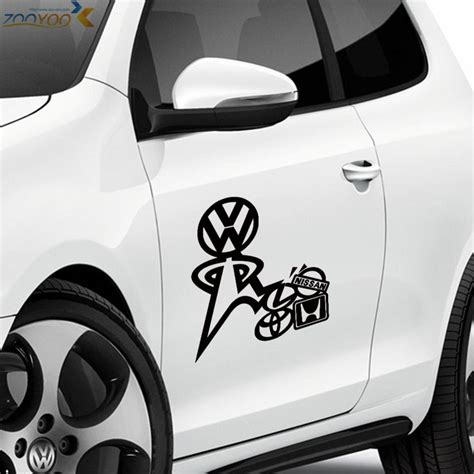 Auto Sticker Vw by 2 Pcs Cool Car Styling Stickers Car Decorations Vinyl Wall