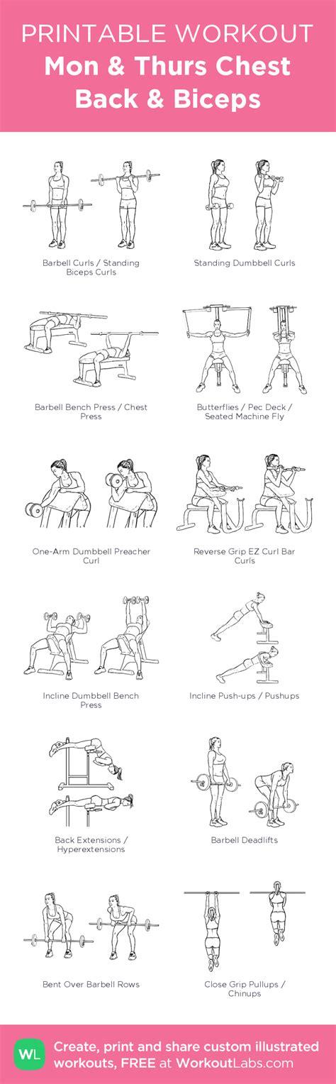 printable exercise program build bigger biceps printable workouts biggest biceps
