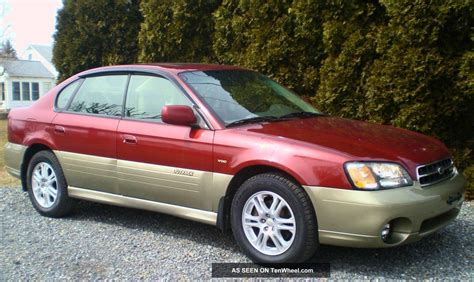 2002 subaru legacy outback h6 vdc awd moon roof