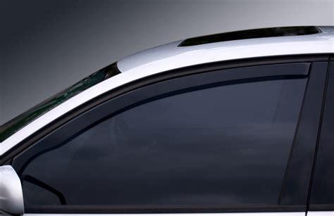 Auto Door Glass How To Install A Car Window Deflector Yourmechanic Advice