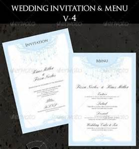 27 wedding menu templates free sle exle format free premium templates