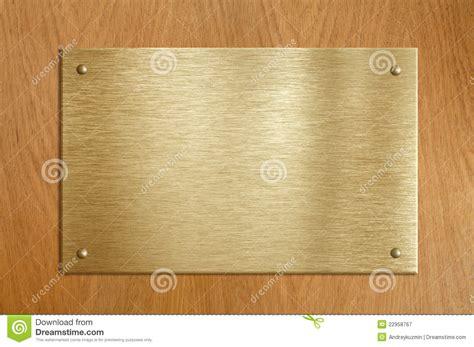escudos de ouro ou de bronze blog do pr venilton chapa de madeira com ouro ou a placa de bronze fotografia
