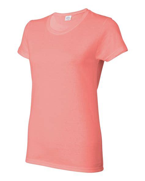 T Shirt Gildan Murah gildan heavy cotton fit t shirt womens s 3xl 5000l g500l ebay