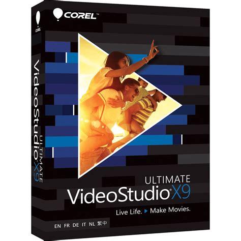 free corel video studio templates corel videostudio x9 ultimate boxed vsprx9ulmlmbam b h photo