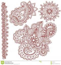 Mehndi Designs Outlines by Free Outline Designs Hd Henna Mehndi Paisley Doodles Royalty Free Stock Photo Image