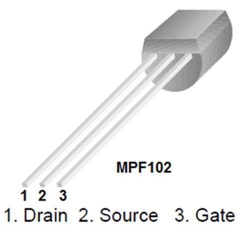 mpf102 jfet transistor how to build an n channel jfet switch circuit
