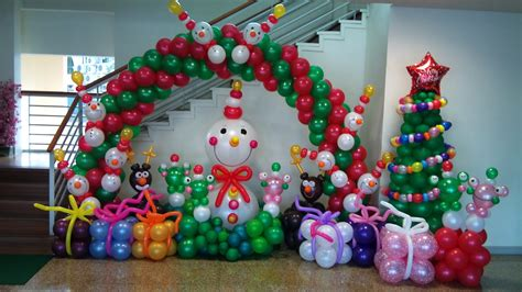 christmas balloons on pinterest balloon arch balloon