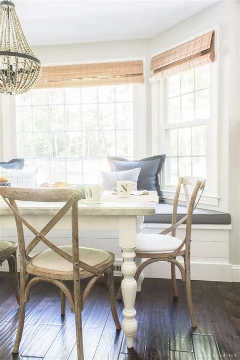 farmhouse breakfast nook reveal nina hendrick
