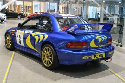 subaru wrc for sale rally legend colin mcrae 1997 subaru impreza wrc for sale