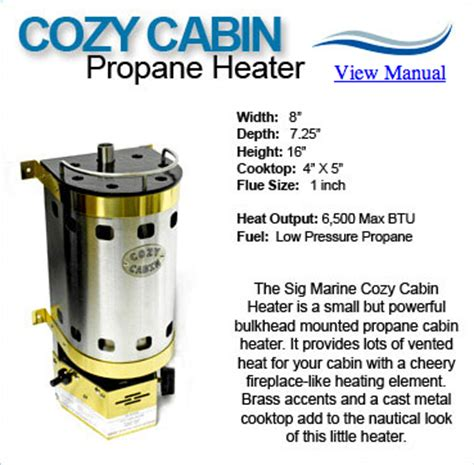 Propane Water Heaters For Cabins by Vented Propane Heater Small Cabin Forum 1