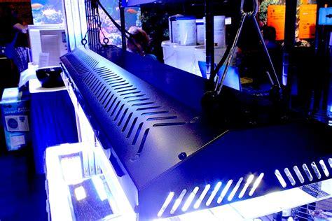 Vho Aquarium Lighting Fixtures Tek Wave T5 Vho Fixture Shown At Macna Aquanerd
