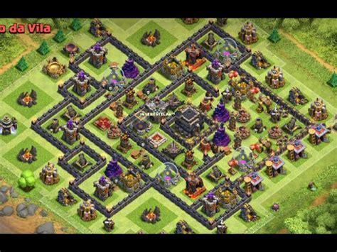 layout troll cv 9 push layout push cv9 para liga campe 195 o best th9 layout