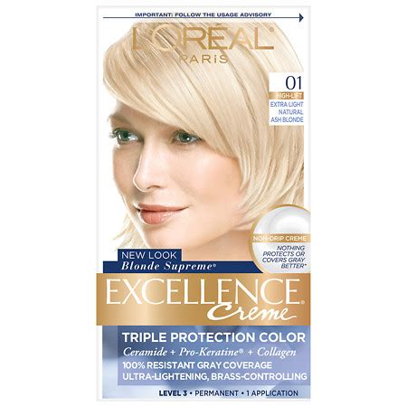 buy l39oreal loreal excellence hair l oreal excellence creme protection permanent