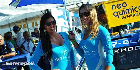 promotoras brasileras soteropoli com no gp bahia stock car 2014 soteropoli