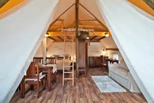 Comfortable Tent Camping Glamping Tents Garden Village Bled Slovenia