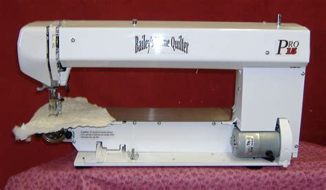 Home Quilting Machines bailey s home quilter pro 15 ehp